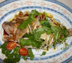 Hong Kong Steamed Fish