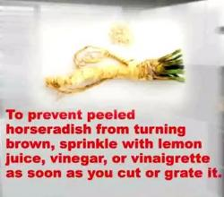 How To Prepare And Use Horseradish