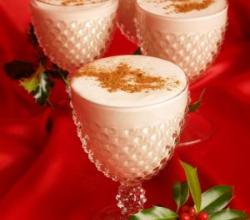 Hot Apple Cider Eggnog