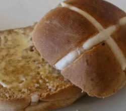 Easy Hot Cross Bun