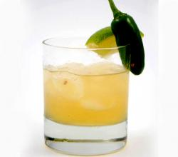 Hot Jalapeno Margarita Cocktail