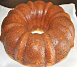 Glazing Your Rum Cake