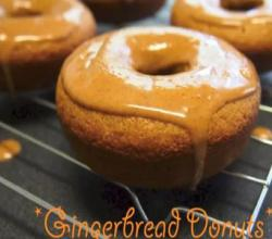 How to Bake Gingerbread Donuts