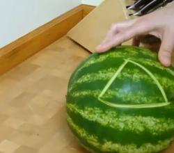How to Carve a Watermelon Basket Fast