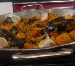 Chicken and Chorizo Sausage Paella