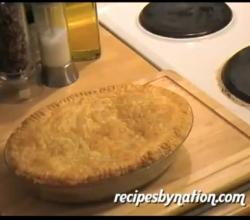 British Chicken and Mushroom Pie