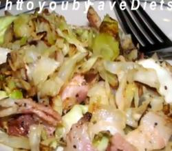 Cabbage with Bacon