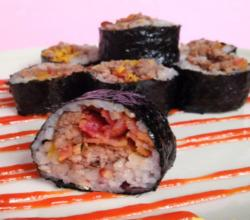 How to Make Cheeseburger Sushi