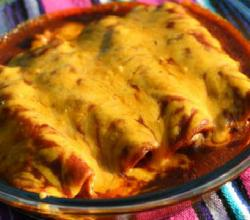 How To Make Chicken Enchiladas with Red Sauce by Rockin Robin