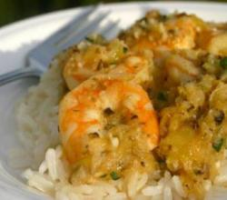 How to Make Coconut Shrimp with Coconut Rice