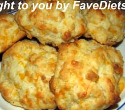 Garlic Cheddar Cheese Biscuits