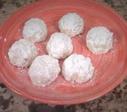 How to Make Mexican Wedding Cookies, Snowball Cookies with Pecans