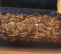 Easy Sausage Apple Stuffing