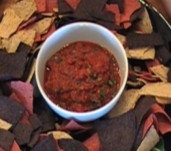 Homemade Spicy Tomato Chipotle Salsa
