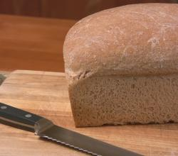 Whole Wheat Bread with Olive Oil