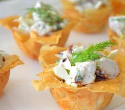 Making Your Own Phyllo Cups
