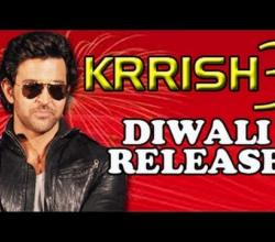 Hrithik Roshan's Krrish 3 to release on Diwali 3rd November 2013