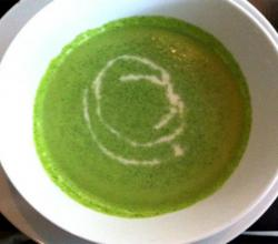 Jerusalem Artichoke and Watercress Soup