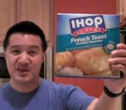 IHOP at Home French Toast Stuffed Pastries Review