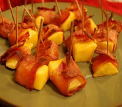 Tips To Wrap Mango In Bacon
