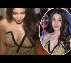 Anushka Sharma SHOCKING Neckline Exposed