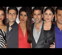 Big Star Entertainment Awards 2012 - Salman Khan, Katrina Kaif & Priyanka Chopra