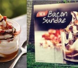 Burger King's Summer Delight - Bacon Sundae