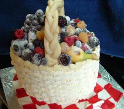 How to Decorate Cakes with Fruit