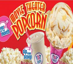 Baskin-Robbins Offers A Total Movie Experience