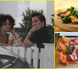 Halle Berry & Her Man Eat At Fig & Olive