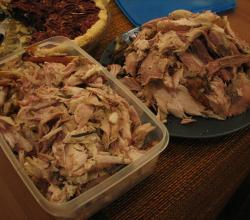 How to store leftover turkey