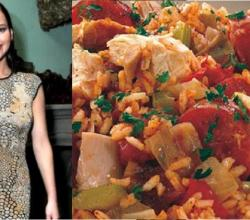 Jennifer Lawrence's Jambalaya Date With Fans