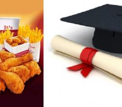 KFC Enters Classroom With Mgmt Degree
