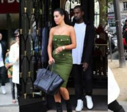 Kim Kardashian Tours Paris With Boyfriend Kanye