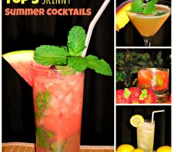 Top 5 Skinny Summer Cocktails
