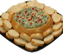 How to Serve a Spinach Bread Dip?
