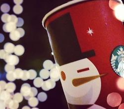 Celebrate Holiday Season With Starbucks' Red Cups