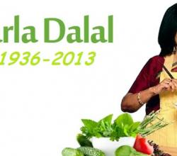 India's Very Own Julia Child - Tarla Dalal - Hangs Her Ladles