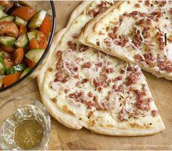 How to Eat Tarte Flambée?