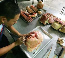 Thai Artist Bakes Grotesque Breads!