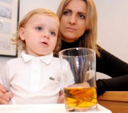 Restaurant Falters Again, 2-Year-Old Served Whiskey