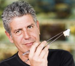 "Anthony Bourdain Calls Fermented Shark A ""WMD"""