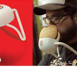 Burger King Introduces Hands-Free Burger Holder