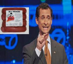 Weiner's Sexting Gives Birth To Hot Dog Brand