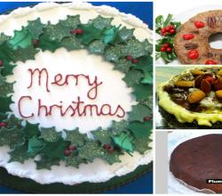 Celebrating Christmas With Delicious Cakes