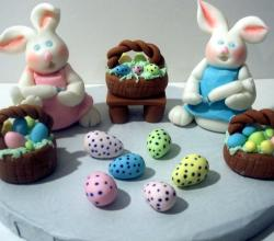 Fondant Easter Cakes Ideas
