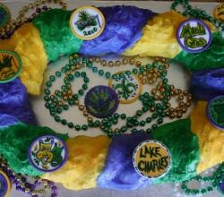 10 Easy Ideas To Make Royal Mardi Gras Cake
