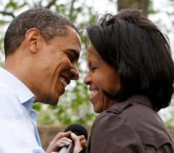 Barack and Michelle Obama's Valentine's Day Rendezvous