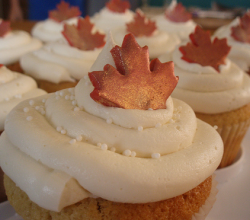5 Easy Maple Cupcake Ideas
