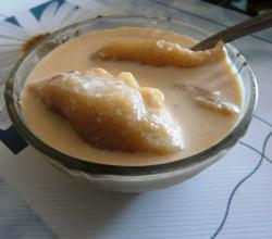 Resident Chef Contest  DESSERT Entry 2nd Winner - Puli Pithe (Coconut Dumplings in Sweetened Milk)